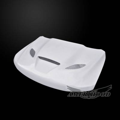 Amerihood - Amerihood Hellcat Functional Ram Air Hood: Jeep Grand Cherokee 2011 - 2020