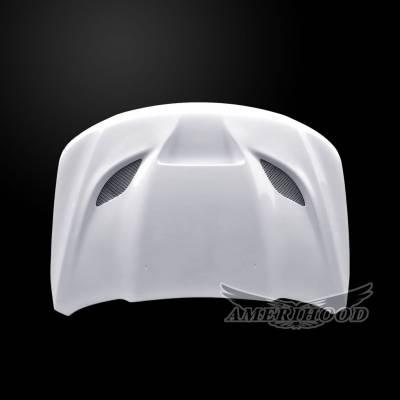Amerihood - Amerihood Hellcat Functional Ram Air Hood: Jeep Grand Cherokee 2011 - 2020 - Image 3