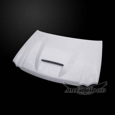 HEMI EXTERIOR PARTS - Hemi Hoods - Amerihood - Amerihood SRT Functional Ram Air Hood: Jeep Grand Cherokee 2005 - 2010