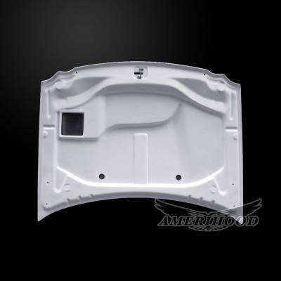 Amerihood - Amerihood SRT Functional Ram Air Hood: Jeep Grand Cherokee 2005 - 2010 - Image 3