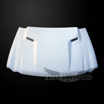 Jeep Grand Cherokee Exterior Parts - Jeep Grand Cherokee Hood - Amerihood - Amerihood CLG Functional Ram Air Hood: Jeep Grand Cherokee 2005 - 2010