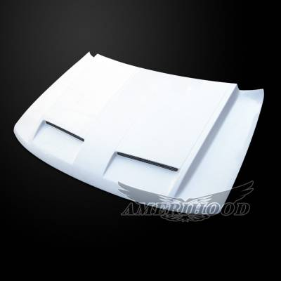Jeep Grand Cherokee Exterior Parts - Jeep Grand Cherokee Hood - Amerihood - Amerihood GTR Functional Ram Air Hood: Jeep Grand Cherokee 1994 - 2004