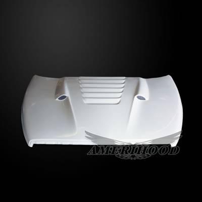 Amerihood - Amerihood TS Functional Ram Air Hood: Dodge Ram 2500 2003 - 2009 - Image 2