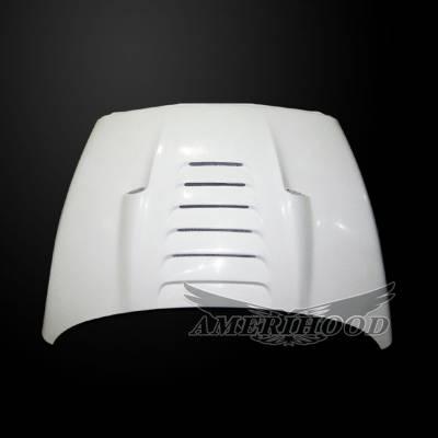 Amerihood - Amerihood TS Functional Ram Air Hood: Dodge Ram 3500 2003 - 2009 - Image 5