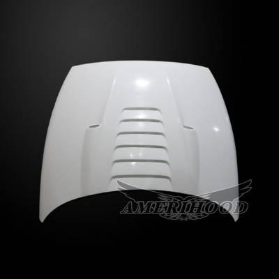 Amerihood - Amerihood TS Functional Ram Air Hood: Dodge Ram 2500 1994 - 2002 - Image 6