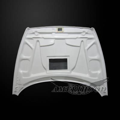 Amerihood - Amerihood TS Functional Ram Air Hood: Dodge Ram 2500 1994 - 2002 - Image 5