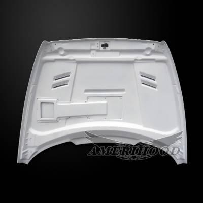 Amerihood - Amerihood SSK Functional Ram Air Hood: Dodge Ram 3500 1994 - 2002 - Image 5