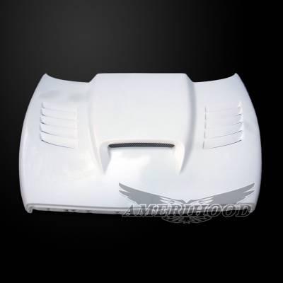 Amerihood - Amerihood SSK Functional Ram Air Hood: Dodge Ram 3500 1994 - 2002 - Image 2