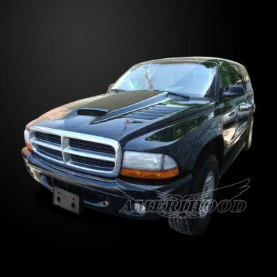 Amerihood - Amerihood SSK Functional Ram Air Hood: Dodge Dakota 1997 - 2004 - Image 5