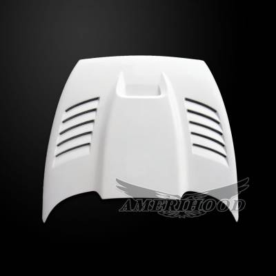 Amerihood - Amerihood SSK Functional Ram Air Hood: Dodge Dakota 1997 - 2004 - Image 2