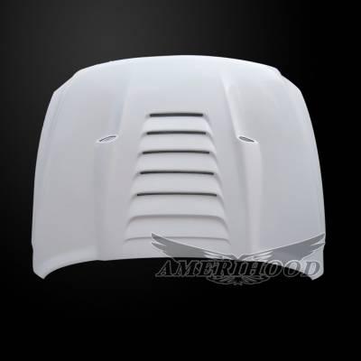 Amerihood - Amerihood TS Functional Ram Air Hood: Dodge Ram 2500 2010 - 2018 - Image 6