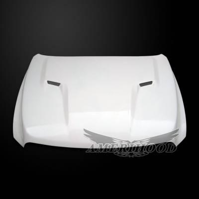 Dodge Ram Exterior Parts - Dodge Ram Hood - Amerihood - Amerihood CLG Functional Ram Air Hood: Dodge Ram 1500 2009 - 2018