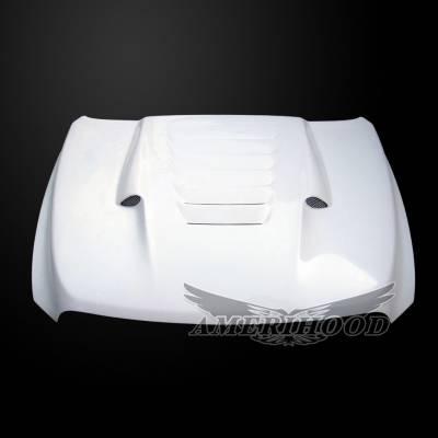 Amerihood - Amerihood TS Functional Ram Air Hood: Dodge Ram 1500 2009 - 2018 - Image 2