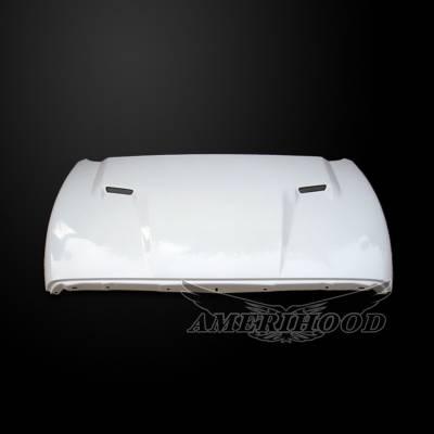 HEMI EXTERIOR PARTS - Hemi Hoods - Amerihood - Amerihood CLG Functional Ram Air Hood: Dodge Ram 1500 2002 - 2008