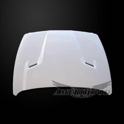 Amerihood - Amerihood CLG Functional Ram Air Hood: Dodge Ram 3500 2003 - 2009 - Image 6