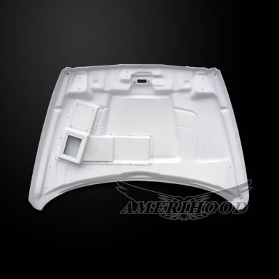 Amerihood - Amerihood CLG Functional Ram Air Hood: Dodge Ram 3500 2003 - 2009 - Image 5