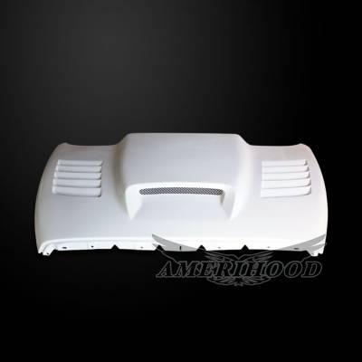 HEMI EXTERIOR PARTS - Hemi Hoods - Amerihood - Amerihood SSK Functional Ram Air Hood: Dodge Ram 1500 2002 - 2008