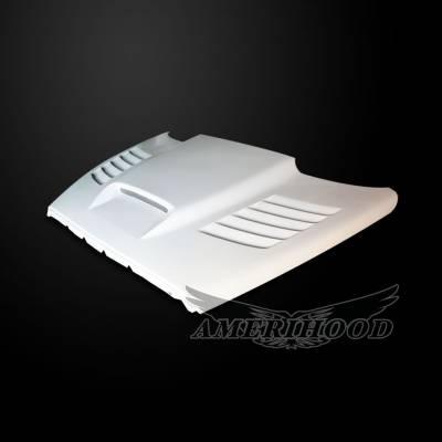 Amerihood - Amerihood SSK Functional Ram Air Hood: Dodge Ram 1500 2002 - 2008 - Image 2