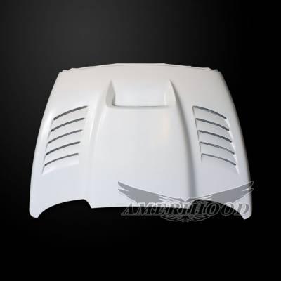 Amerihood - Amerihood SSK Functional Ram Air Hood: Dodge Ram 2500 2003 - 2009 - Image 3