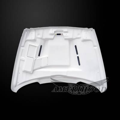 Amerihood - Amerihood SSK Functional Ram Air Hood: Dodge Ram 3500 2003 - 2009 - Image 8