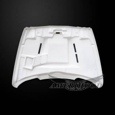 Amerihood - Amerihood SSK Functional Ram Air Hood: Dodge Ram 3500 2003 - 2009 - Image 5