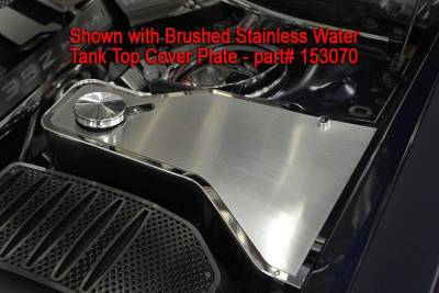 American Car Craft - American Car Craft Polished Water Tank Cover w/ Cap: Dodge Challenger 2011 - 2021 (V8 Models) - Image 8