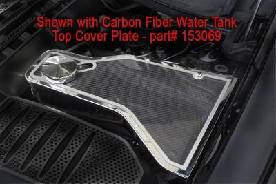 American Car Craft - American Car Craft Carbon Fiber Water Tank Top Cover Plate: Dodge Challenger 2011 - 2020 (V8 Models) - Image 1