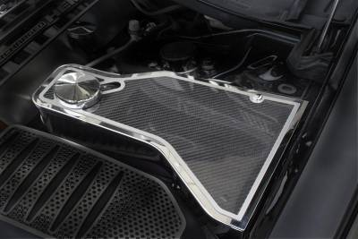 American Car Craft - American Car Craft Carbon Fiber Water Tank Top Cover Plate: Dodge Challenger 2011 - 2020 (V8 Models) - Image 2