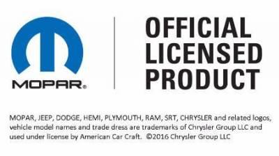 "American Car Craft - American Car Craft Factory Anti-lock Brake Cover ""HEMI"" Top Plate: Dodge Challenger 2015 - 2021 - Image 6"