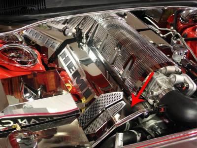 American Car Craft - American Car Craft Polished Engine Harness Cover: Dodge Challenger 6.1L SRT8 2008 - 2010 - Image 3