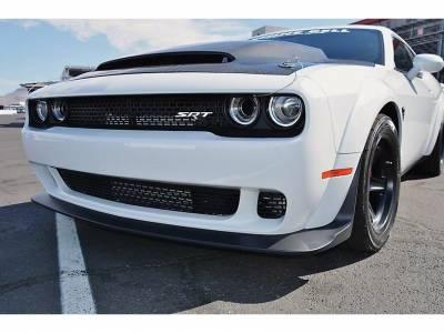 Anderson Composites - Anderson Composites Demon Carbon Fiber Hood: Dodge Challenger 2008 - 2020 - Image 3