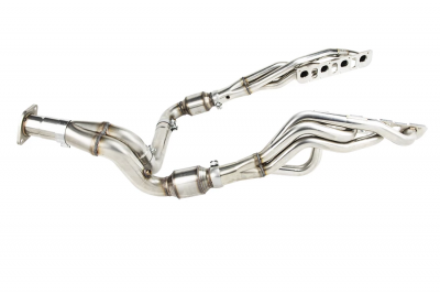 "Dodge Ram Engine Performance - Dodge Ram Headers & Mid Pipes - Kooks - Kooks 1 7/8"" x 3"" Stainless Long Tube Header Kit: Dodge Ram 1500 5.7 Hemi 2019 - 2021"