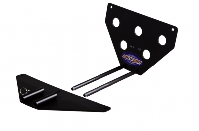 StoNSho - Sto N Sho Quick Release Front License Plate Bracket: Dodge Challenger 2015 - 2020 (w/OUT Adaptive Cruise) - Image 3