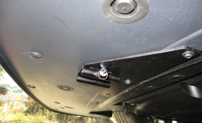 StoNSho - Sto N Sho Quick Release Front License Plate Bracket: Dodge Challenger 2015 - 2020 (w/OUT Adaptive Cruise) - Image 5