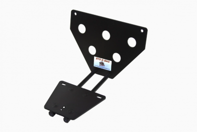 StoNSho - Sto N Sho Quick Release Front License Plate Bracket: Dodge Challenger 2015 - 2020 (WITH Adaptive Cruise) - Image 3