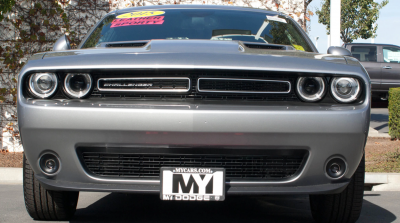 StoNSho - Sto N Sho Quick Release Front License Plate Bracket: Dodge Challenger 2015 - 2020 (WITH Adaptive Cruise)