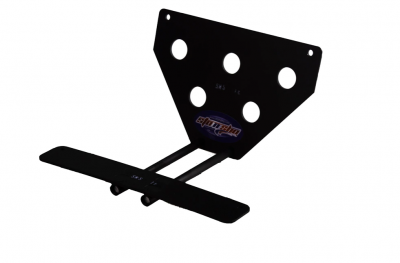 StoNSho - Sto N Sho Quick Release Front License Plate Bracket: Dodge Challenger Hellcat / Demon / ScatPack Widebody 2015 - 2020 (Upper Mount) - Image 3