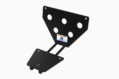 StoNSho - Sto N Sho Quick Release Front License Plate Bracket: Dodge Challenger 2008 - 2014 - Image 4