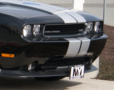 StoNSho - Sto N Sho Quick Release Front License Plate Bracket: Dodge Challenger 2008 - 2014 - Image 2