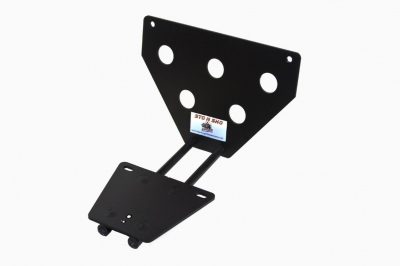 StoNSho - Sto N Sho Quick Release Front License Plate Bracket: Dodge Charger SRT / Hellcat / ScatPack / R/T Plus 2015 - 2020 (Lower Mount) - Image 3
