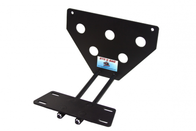StoNSho - Sto N Sho Quick Release Front License Plate Bracket: Dodge Charger SE / SXT / GT / R/T 2015 - 2020 (Lower Mount) - Image 6