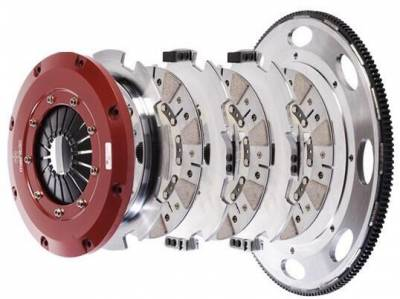 HEMI TRANSMISSION PARTS - Hemi Lightweight Flywheels - Mantic Clutch - Mantic Triple Disc Clutch Kit: Dodge Viper 1996 - 2004 / Ram SRT10 2004 - 2006