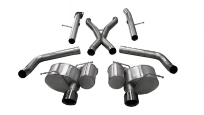 Corsa - Corsa Xtreme Exhaust System: Jeep Grand Cherokee 6.4L SRT 2012 - 2021 - Image 2