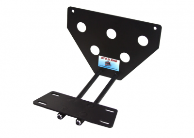 StoNSho - Sto N Sho Quick Release Front License Plate Bracket: Dodge Charger SRT8 / Superbee 2012 - 2014 (Lower Mount) - Image 2
