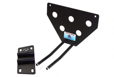 StoNSho - Sto N Sho Quick Release Front License Plate Bracket: Dodge Charger SRT8 / Superbee 2012 - 2014 (Lower Mount) - Image 3