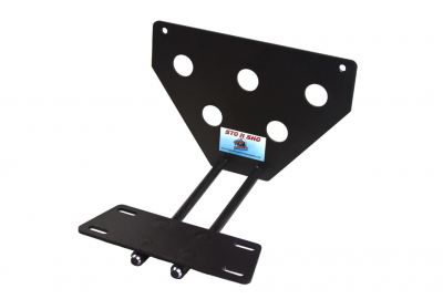 StoNSho - Sto N Sho Quick Release Front License Plate Bracket: Dodge Charger SE / SXT / R/T 2011 - 2014 - Image 3