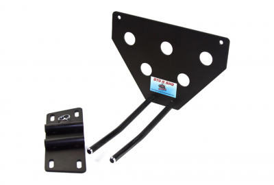 StoNSho - Sto N Sho Quick Release Front License Plate Bracket: Dodge Charger SE / SXT / R/T 2011 - 2014 - Image 4