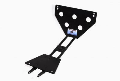 StoNSho - Sto N Sho Quick Release Front License Plate Bracket: Dodge Charger SRT8 / Superbee 2006 - 2010 (Lower Mount) - Image 4