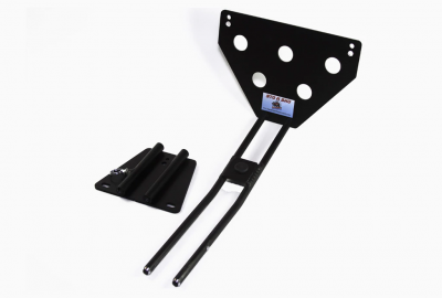 StoNSho - Sto N Sho Quick Release Front License Plate Bracket: Dodge Charger SRT8 / Superbee 2006 - 2010 (Lower Mount) - Image 5