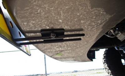 StoNSho - Sto N Sho Quick Release Front License Plate Bracket: Dodge Ram Sport 2017 - Image 2